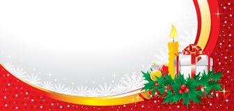 Ilustración maravillosa de la Navidad. Vector. Fotografía de archivo