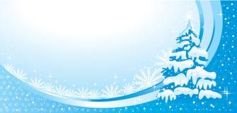 Ilustración maravillosa de la Navidad. Vector. Fotos de archivo
