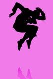 Ilustración masculina del bailarín stock de ilustración