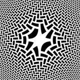 Ilustración negra y blanca abstracta Imagen de archivo libre de regalías