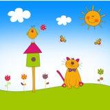 Ilustración para los niños Fotos de archivo libres de regalías