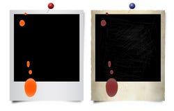 Ilustración polaroid Foto de archivo libre de regalías