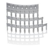 Ilustración romana del colosseum Foto de archivo