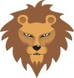 Ilustración salvaje del león foto de archivo