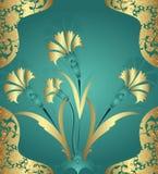 Ilustración turca del azulejo del otomano tradicional Imagenes de archivo