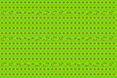 Ilustración verde del resorte imagenes de archivo