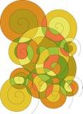 Ilustración voluted abstracta Foto de archivo libre de regalías