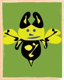 ilustraci astronautyczna pszczoła Obrazy Stock