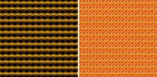 ilustraci kolor żółty deseniowy bezszwowy wektorowy Obraz Royalty Free