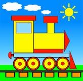 ilustraci pociągu wektor royalty ilustracja