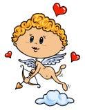 Ilustración de color del Cupid Fotos de archivo libres de regalías