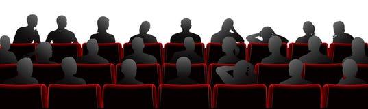 Ilustración de la audiencia Imagenes de archivo