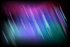 Ilustración de la aurora boreal Foto de archivo libre de regalías