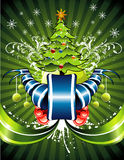 Ilustración de la Navidad del vector Fotografía de archivo