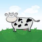 Ilustración de la vaca del vector Fotos de archivo