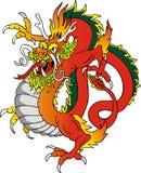 Ilustración del dragón Fotografía de archivo