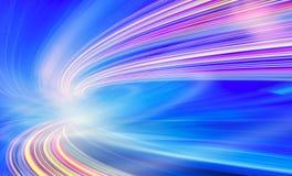 Ilustración del fondo de la tecnología, velocidad abstracta Foto de archivo libre de regalías