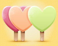 Ilustración del helado Foto de archivo libre de regalías