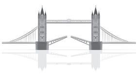 Ilustración del puente Imágenes de archivo libres de regalías