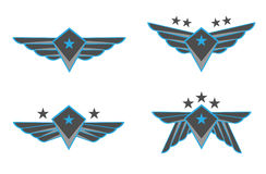 Ilustración del vector de las alas Fotografía de archivo libre de regalías