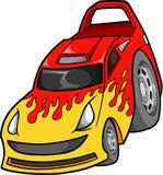 Ilustración del vector del coche Foto de archivo