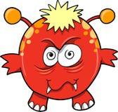 Ilustración del vector del diablo del monstruo Imagen de archivo libre de regalías