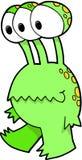 Ilustración del vector del monstruo Imagen de archivo libre de regalías
