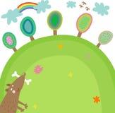 Ilustración del verano Imagen de archivo libre de regalías