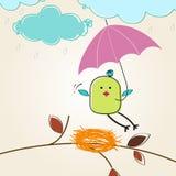 Ilustración linda del otoño Imagen de archivo libre de regalías