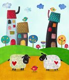 Ilustración para los niños Imagen de archivo libre de regalías