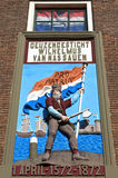 Ilustraciones coloridas del combatiente protestante holandés de la libertad Foto de archivo