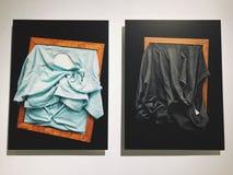 Ilustraciones con ropa en el DESVÁN de Shenzhen OCT fotos de archivo libres de regalías