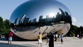 Ilustraciones de Chicago - la haba - lapso de tiempo almacen de video