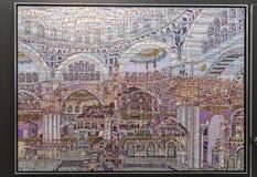 Ilustraciones de Estambul contemporánea, 2017 Imagen de archivo