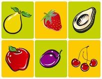 Ilustraciones de la fruta libre illustration