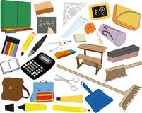 Ilustraciones de las fuentes de escuela libre illustration