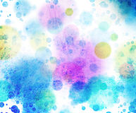 Ilustraciones de las técnicas mixtas Imagen de archivo libre de regalías
