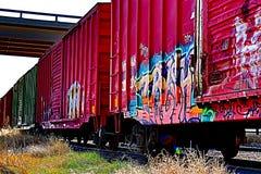 Ilustraciones de Traincar fotografía de archivo