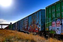 Ilustraciones de Traincar imagen de archivo