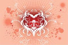 Ilustraciones del backround del amor del arte del vector Foto de archivo libre de regalías