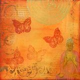 Ilustraciones del collage Foto de archivo libre de regalías