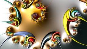Ilustraciones del fractal stock de ilustración