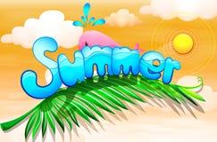 Ilustraciones del verano libre illustration
