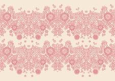 Ilustraciones florales con las flores Imagen de archivo