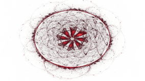 Ilustraciones generadas por ordenador del fractal para el diseño creativo libre illustration