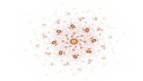 Ilustraciones generadas por ordenador del fractal para el diseño creativo ilustración del vector