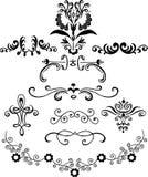 Ilustraciones ornamentales Fotos de archivo