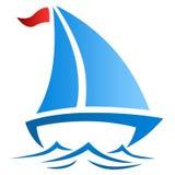 Ilustracja łódź Zdjęcie Royalty Free