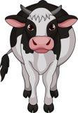 Śliczna krowy kreskówka ilustracji