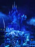 Ilustracja: Śnieżny pałac w bajce Obraz Royalty Free